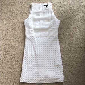 Gorgeous White Eyelet Banana Republic Dress Size 8